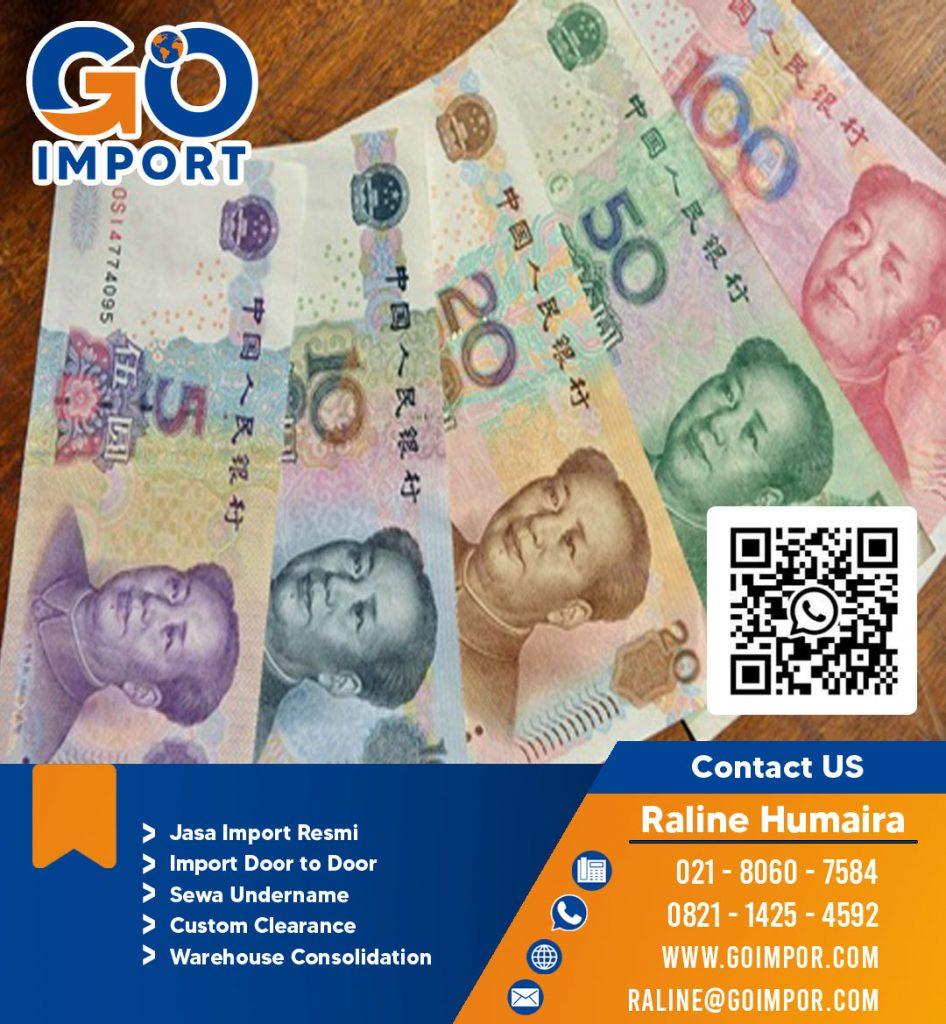 JASA IMPORT TITIP TRANSFER RMB |JGC CARGO