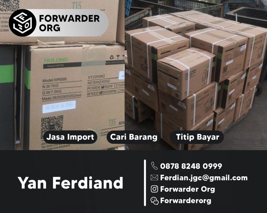 Jasa Import Mesin Jahit dan Sparepartnya | JGC CARGO