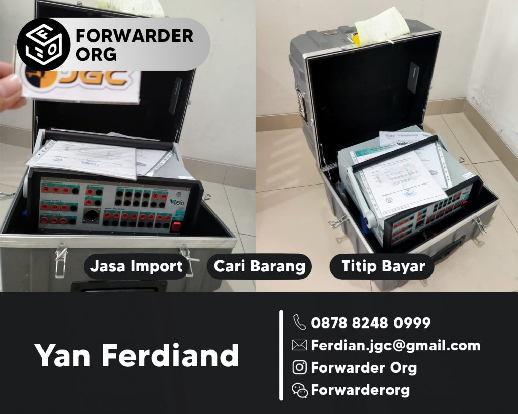 Jasa Import Instrumen Listrik dari Turkey | JGC CARGO