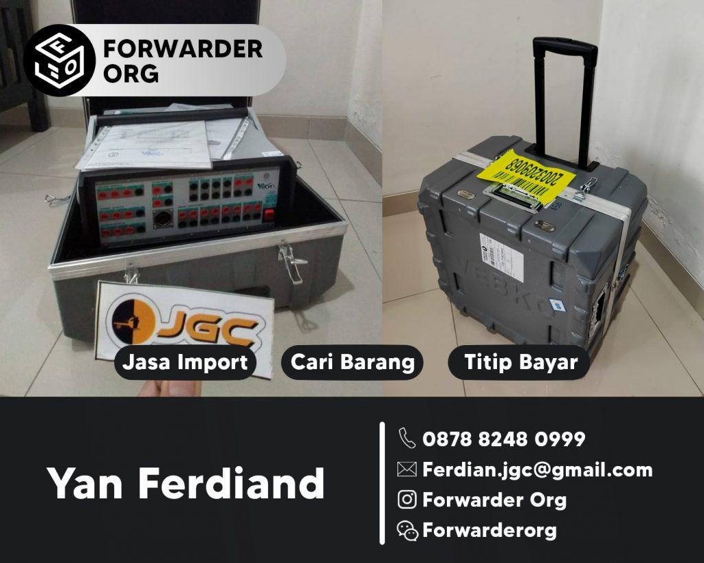 Jasa Import Mesin kelistrikan dan Sparepartnya | JGC CARGO