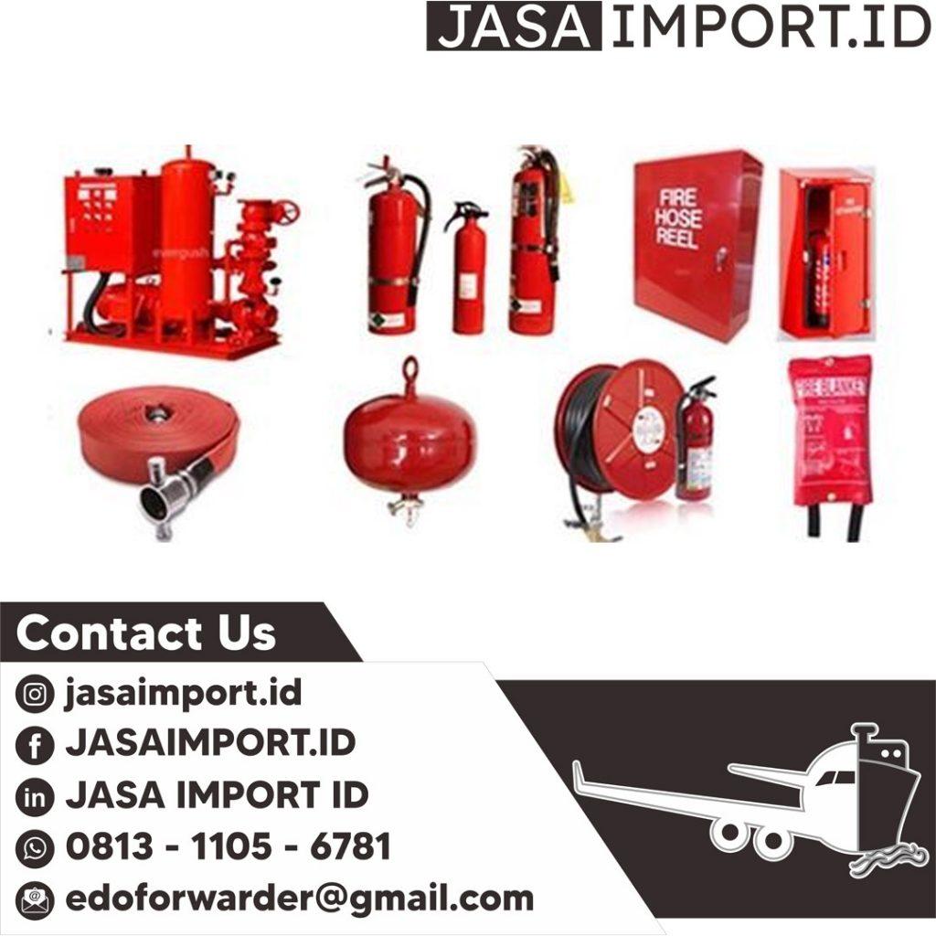 JASA IMPORT ALAT PEMADAM   JGC CARGO   081311056781