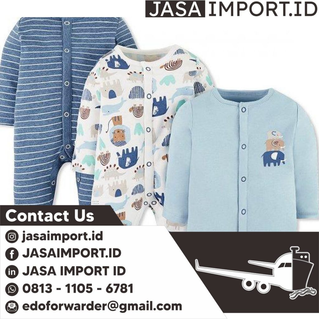 JASA IMPORT BAJU BAYI | JGC CARGO | 081311056781