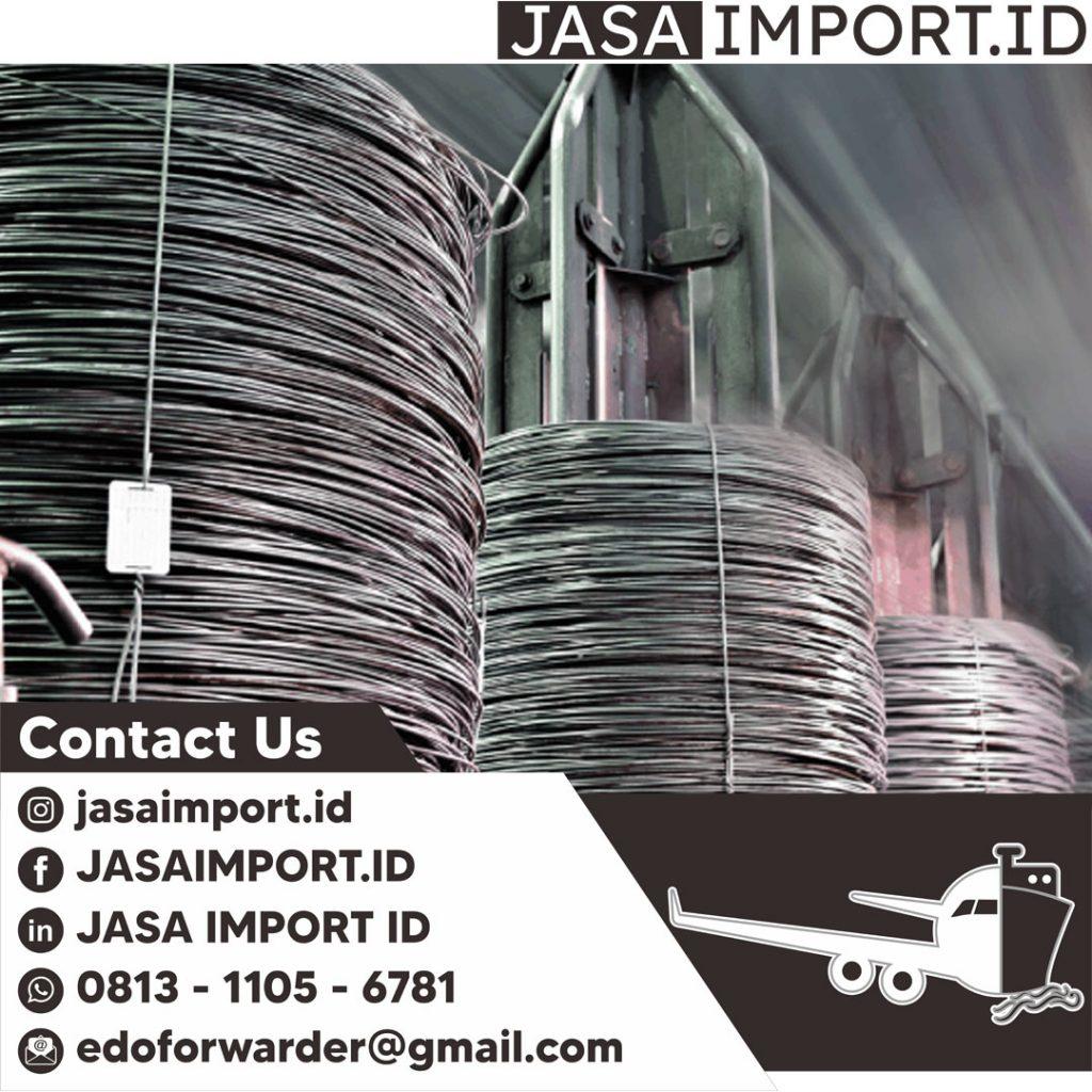 JASA IMPORT KAWAT BENDRAT | JGC CARGO | 081311056781