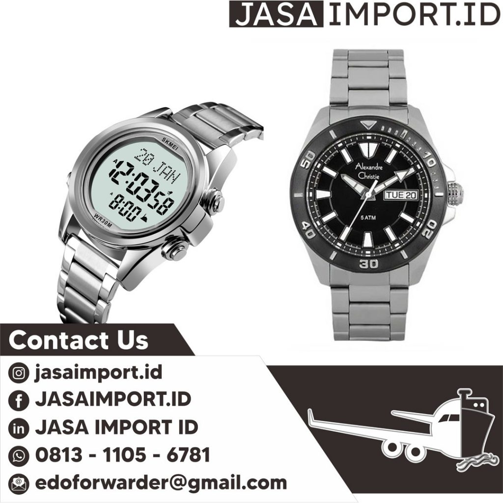 JASA IMPORT JAM TANGAN | JGC CARGO | 081311056781