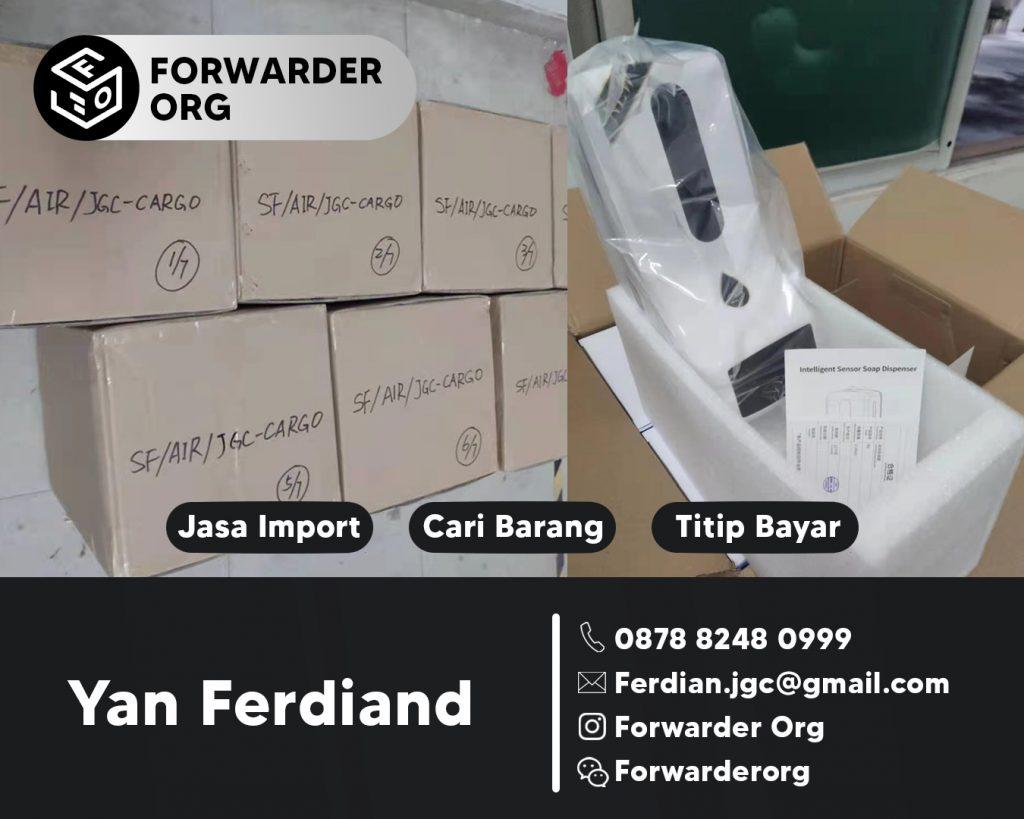 Jasa Import dan Beli Thermometer Hand Sanitazer | JGC CARGO