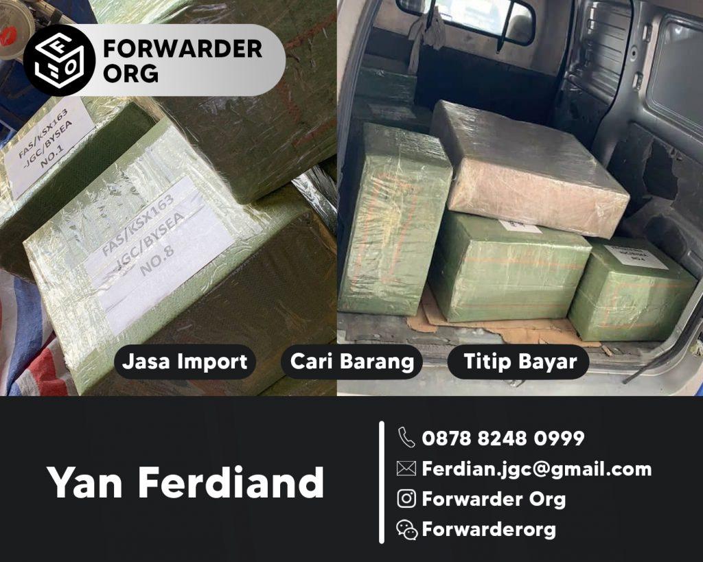 Jasa Import Sparepart Alat Berat dan Accessoriesnya | JGC CARGO