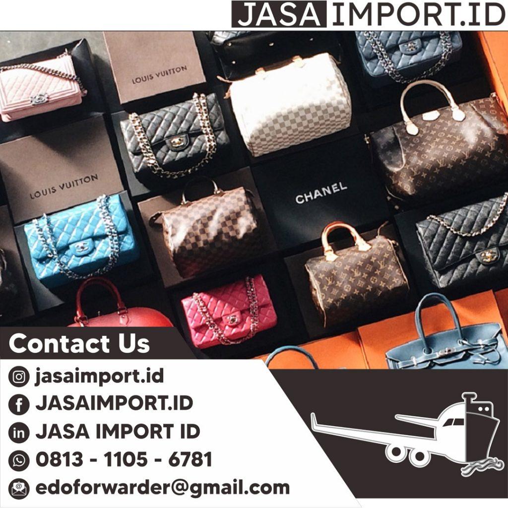 JASA IMPORT TAS BEKASI   JGC CARGO   081311056781