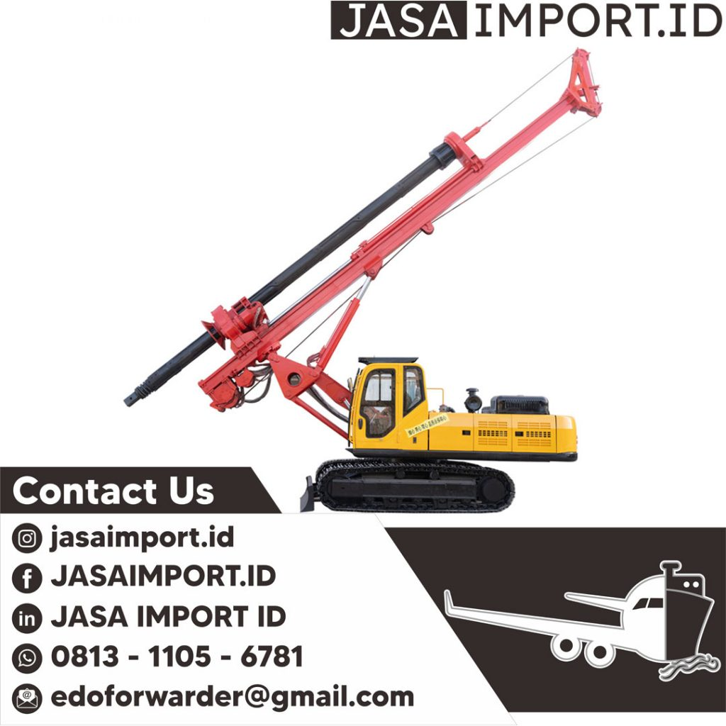 JASA IMPORT ALAT DRILLING   JGC CARGO   081311056781