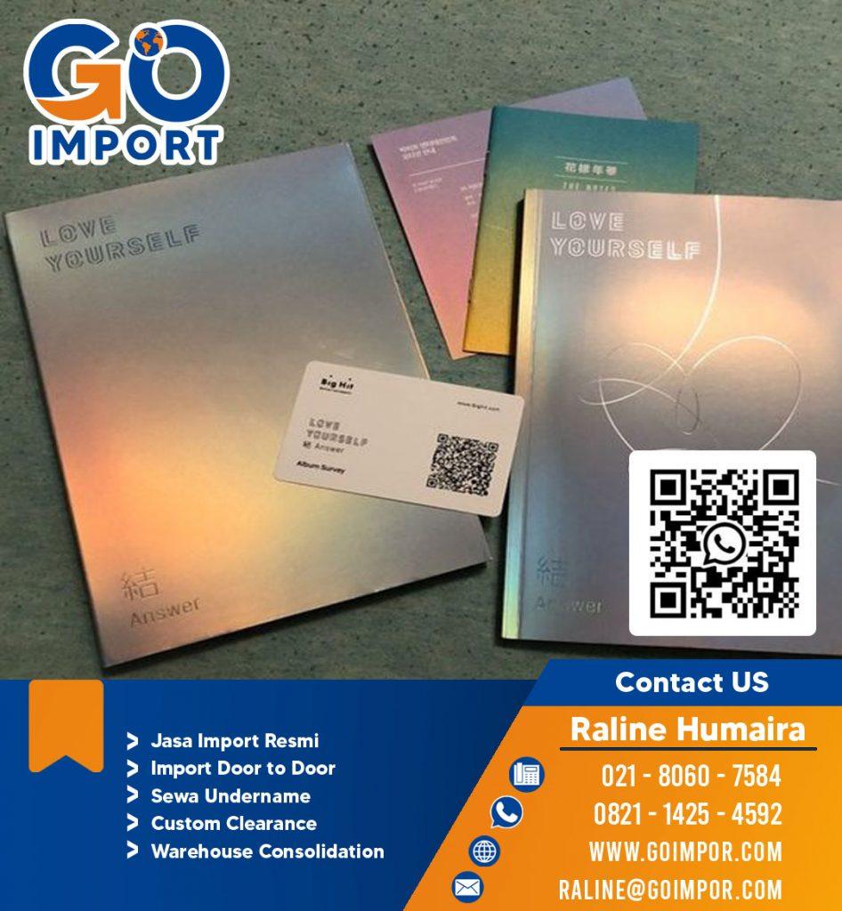 JASA IMPORT CD DARI KOREA | JGC CARGO