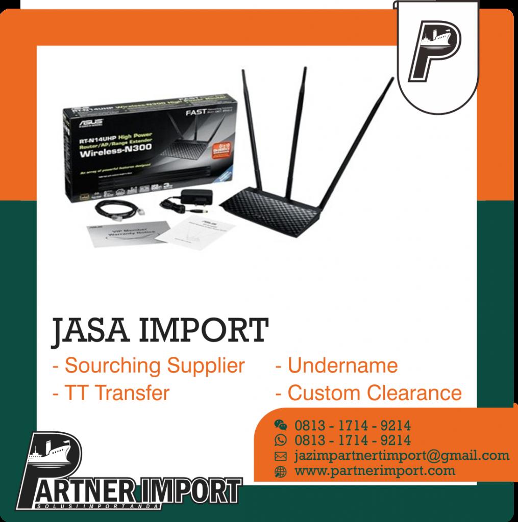 JASA IMPORT ROUTER WIFI | JGC CARGO | 081317149214