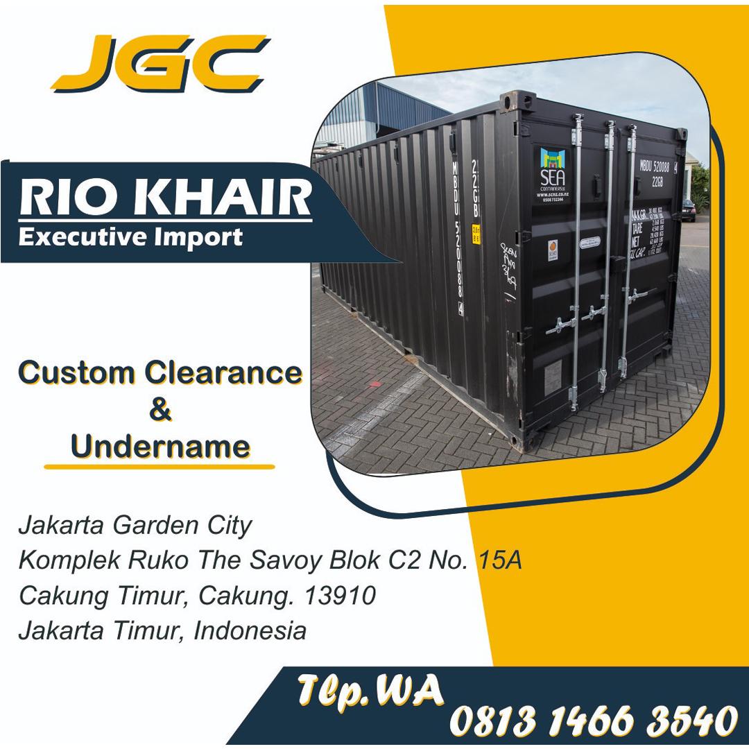Jasa Import Full Container   JGC Cargo  081314663540