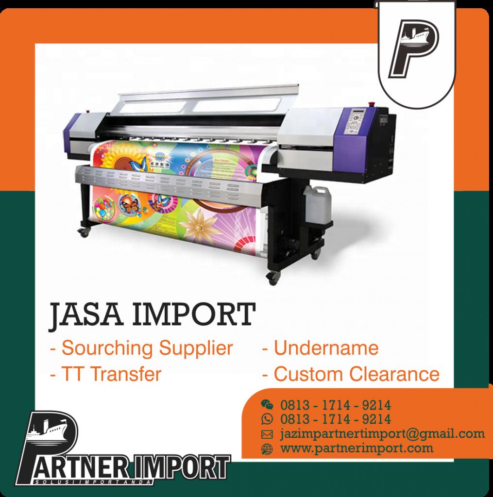 JASA IMPORT MESIN DIGITAL PRINTING | JGC CARGO